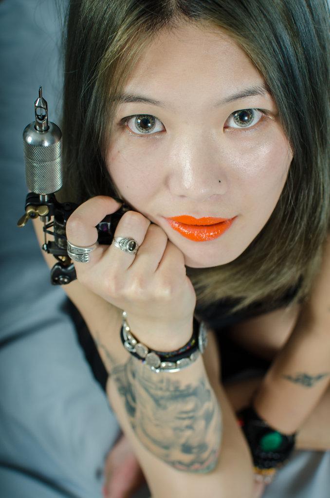 Chong (Tatoo artist, China)