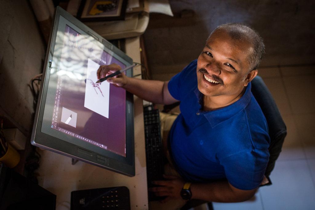 Saumin Suresh Patel (illustrator, India)
