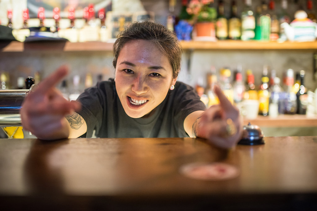 Ma Yue, Punk Bar Owner