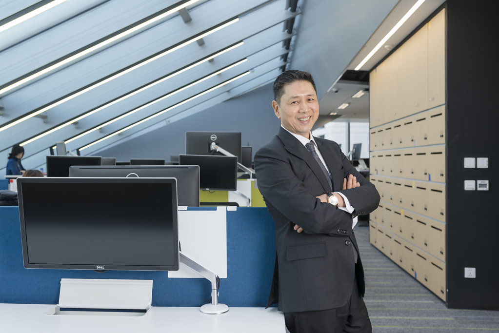 Bernard Kwok, CEO of VMWare (Assignment for CEO Magazine)